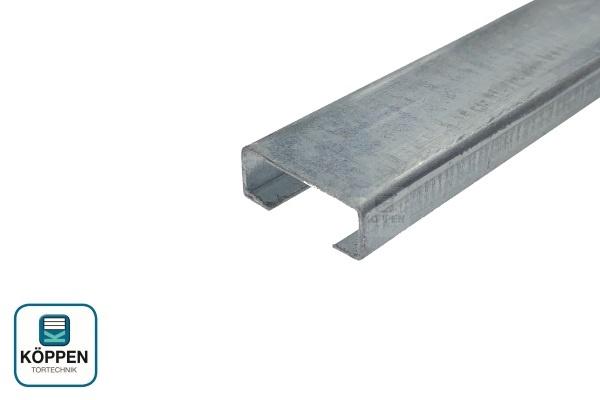 Bodenprofil (C-Schiene) 20x8x4900 mm Typ Universal für