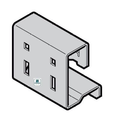 Federstopperkonsole Federstopperkonsole - D für Beschlagsart