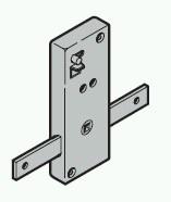 Garagentorschloss ASSA TS 42mm für Sektionaltore passend zu