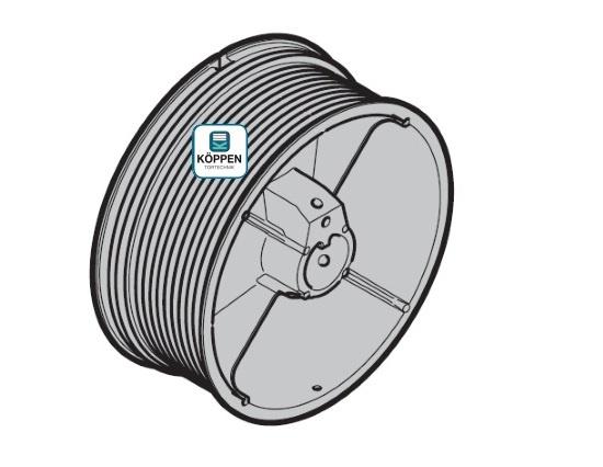 Seiltrommel Größe 3 links passend zu Hörmann Industrie-