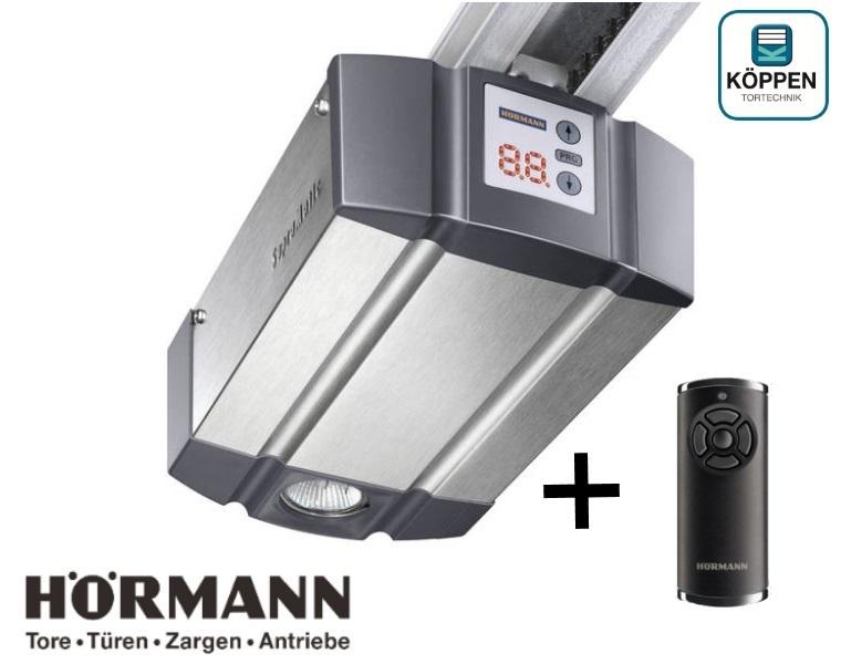 SupraMatic E Hörmann Serie 3 kompl. mit Flügeltorbeschlag