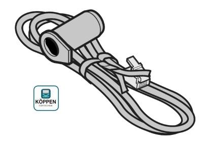 Opto-Sensor / Empfänger SKS mit Vergussmasse: Schwarz für