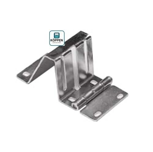 Seitenscharnier oder Scharnierbock verzinkt passend zu