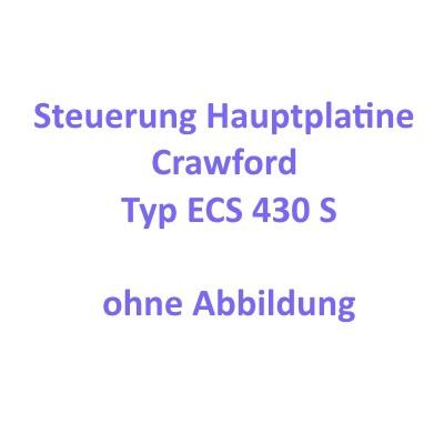Platine / Hauptplatine für ECS 430 S Steuerung (K034017 und
