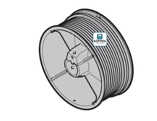Seiltrommel Größe 3 rechts passend zu Hörmann Industrie-