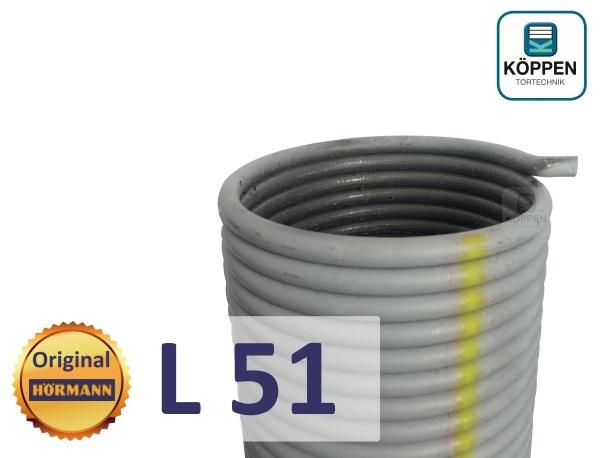 Hörmann Torsionsfeder L51 für Industrie Sectionaltore