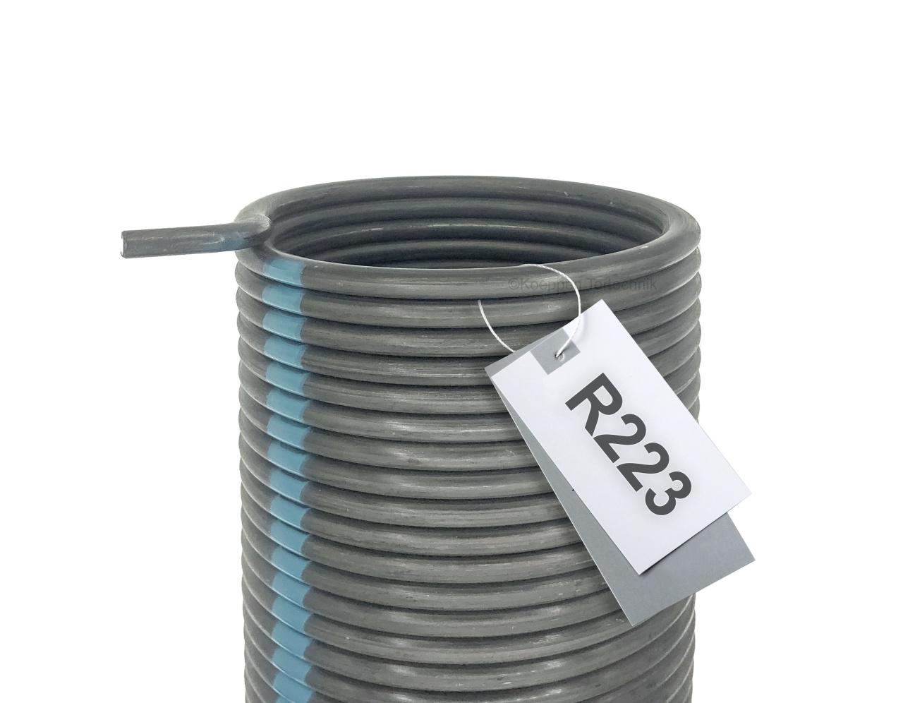 Torsionsfeder R223 passend zu Hörmann Industrie Sectionaltor