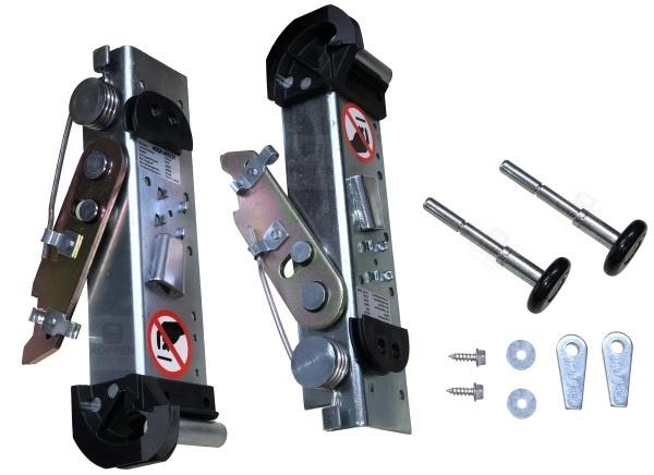 Seilbruchsicherung / Seilhalter Set mit Rollenhalter und