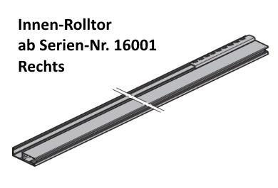 Führungsschiene FS110 Rechts für Hörmann RollMatic Innen
