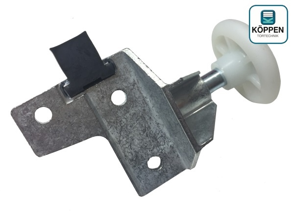 rollenhalter links mit halter und stopper zu n80 schwingtor h rmann ersatzteile g nstig f r. Black Bedroom Furniture Sets. Home Design Ideas