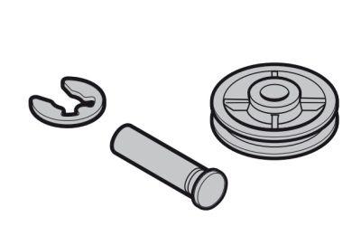 Baugruppe Seilumlenkrolle für Hörmann RollMatic