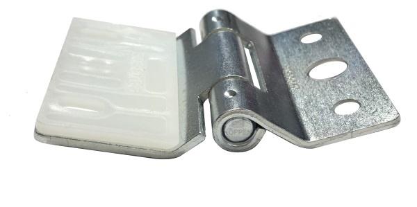 Scharnier Mitte Typ 6 Edelstahl mit Unterfütterung passend
