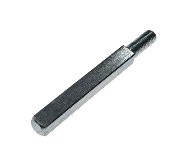 Vierkant Drückerstift für Griffgarnitur Länge 90 mm passend