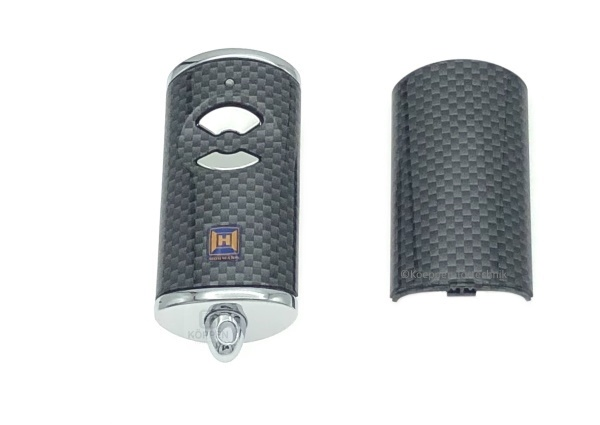 Gehäuse für Handsender Typ HSE2 BiSecur Farbe : weiß