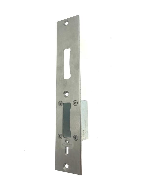 Schließblech DIN links für Hörmann Türe E65-1 RC4