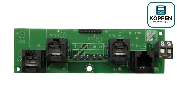 Platine / Basisplatine Schließkantensicherung SKS passend zu