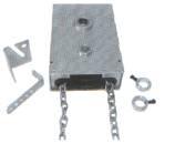 Haspelkettenantrieb direkt 1:4 Hexagonalwelle passend zu