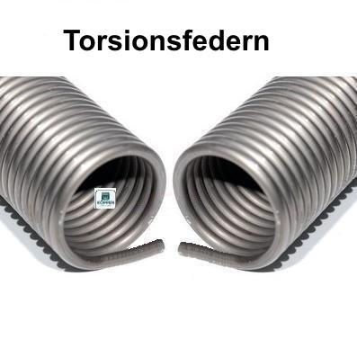 Torsionsfedern für verschiedene Hersteller