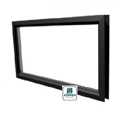 Fenster rechteck  Kunststoff 2 teilig Klicksystem 680x373