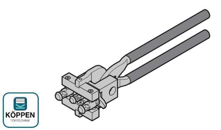 Lochzange für Sturmanker Hörmann RollMatic
