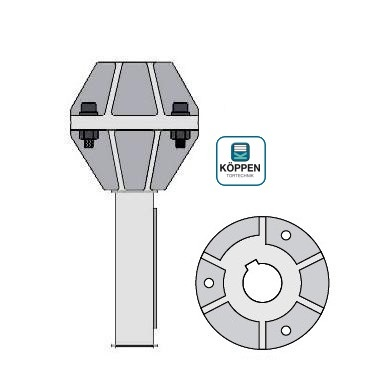 Adapter für Antriebswellen