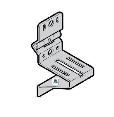 Rollenbock Seitenscharnier Typ 6 passend zu Beschlag H