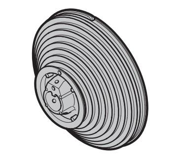 Seiltrommel Größe 9 links passend zu Hörmann Industrie-