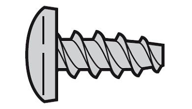 Blechschraube 4,2x13 mit Linsenkopf und Torx Edelstahl