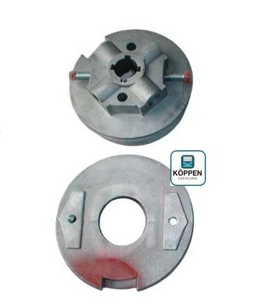 Federspannset Rechts (rot) für Innendurchmesser ID 133mm