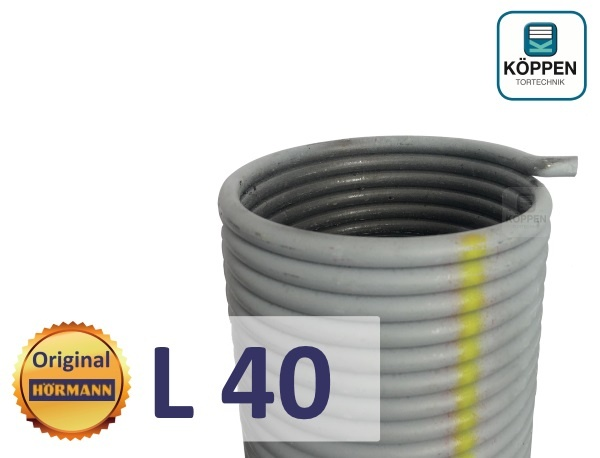 Hörmann Torsionsfeder L40 für Industrie Sectionaltore