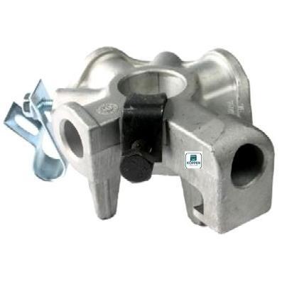 Federspannkopf (Federkonus) fürTorsionsfeder ID 95 mm 6-Kant