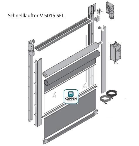 Schnelllauftor V 5015 SEL