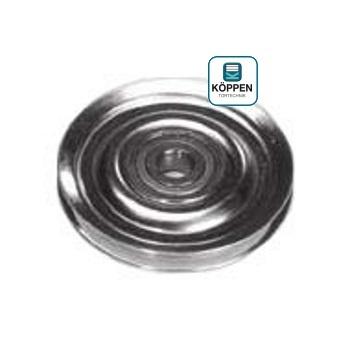 Umlenkrolle / Seilumlenkrolle Ø 100 mm Achsbohrung Ø 10,3 mm