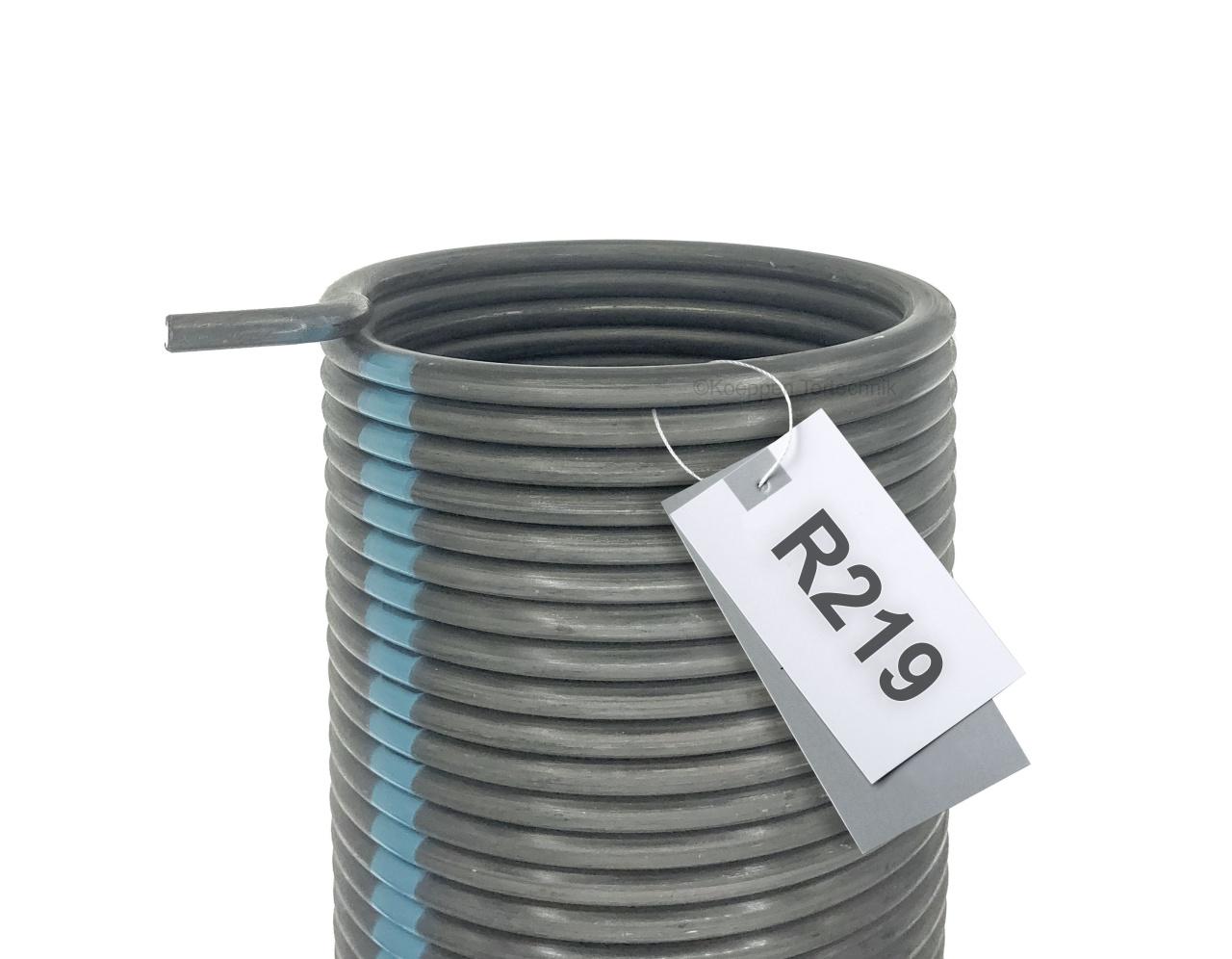 Torsionsfeder R219 passend zu Hörmann Industrie Sectionaltor