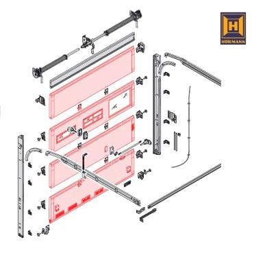 baureihe 50 h rmann ersatzteile g nstig f r tore und mehr. Black Bedroom Furniture Sets. Home Design Ideas