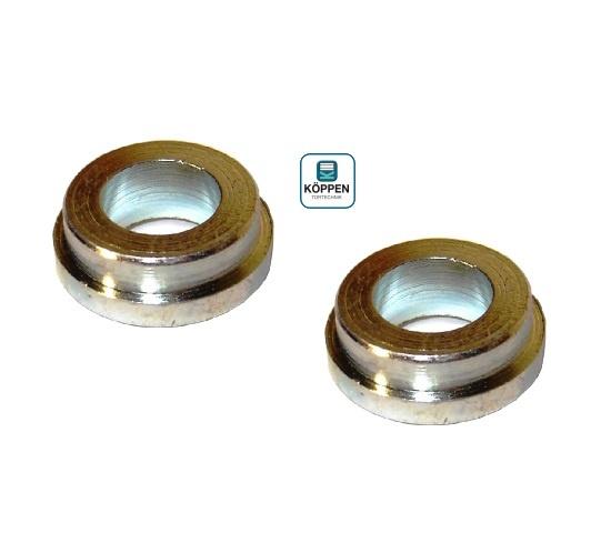 Reduzier Hülse / Buchse für Seilumlenkrolle von Ø 17mm auf
