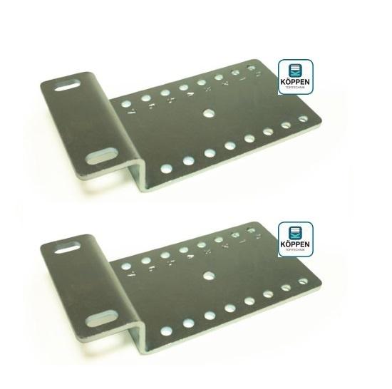 Montagewinkel oder Montagekonsole (Paar) für Federpuffer
