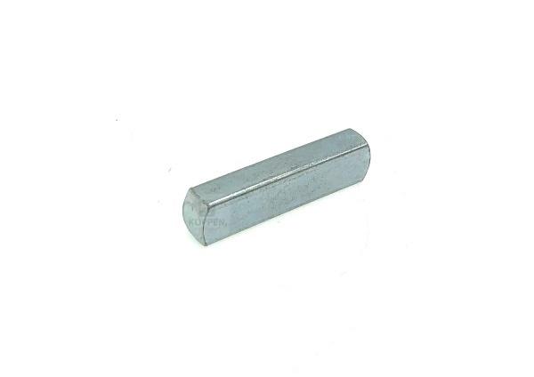 Keil ( Paßfeder) für Hohlwelle Länge +/- 38 mm verzinkt