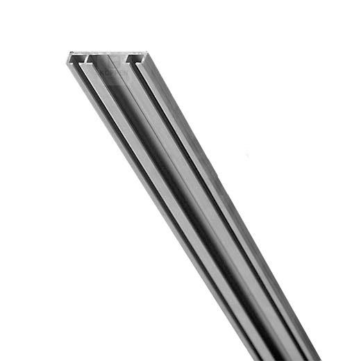 Bodenprofil flach +/- 7mm hoch L=+/- 4900 mm als Aufnahme-