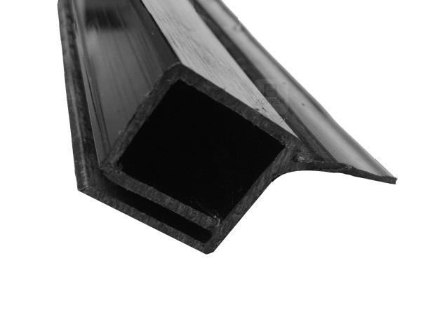 Seitendichtung L= +/- 4900 mm für senkrechte Torzarge