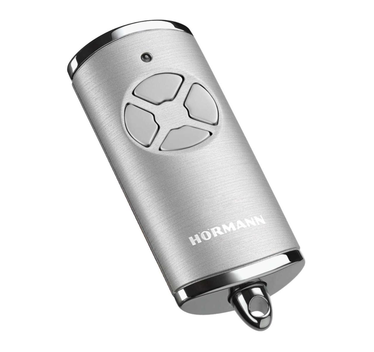 Handsender Hörmann HSE4 BS mit BiSecur Chrom Silber