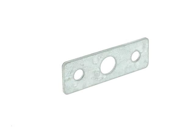 Distanzblech Scharnier 60 x 20 x 1,5 mm passend zu