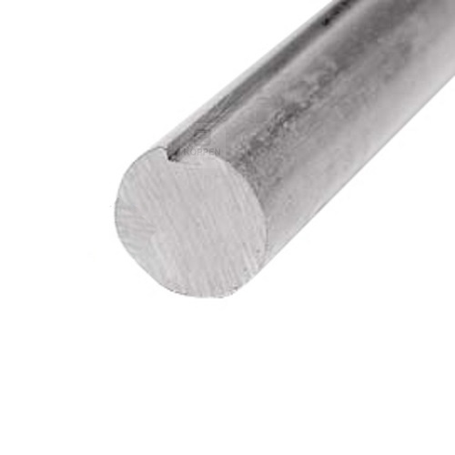 Welle massiv 1 (25,4 mm) mit Nut L=+/- 1500 mm verzinkt