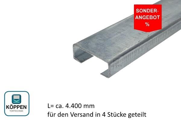 Bodenprofil (C-Schiene) 20x8x1100 mm Typ Universal für