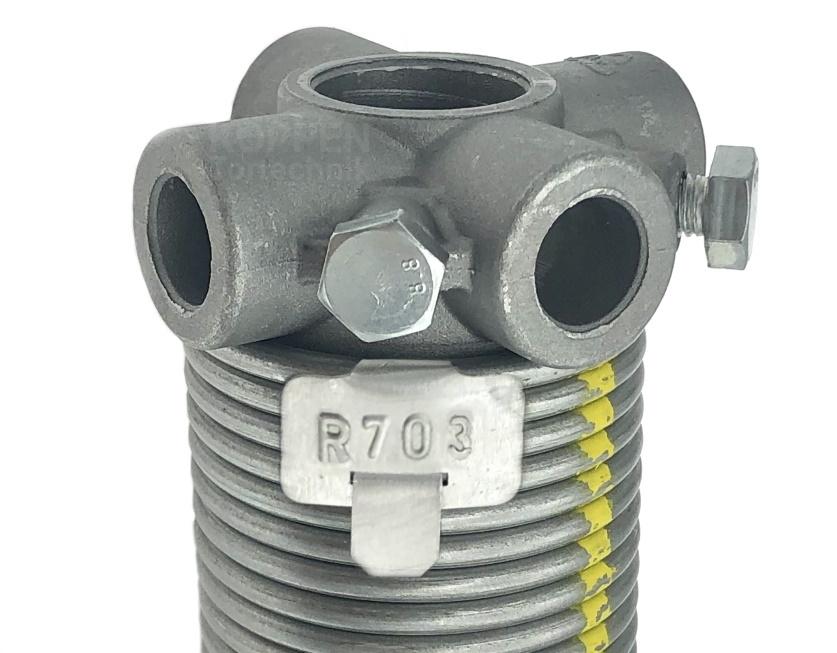 Hörmann Torsionsfeder R703 ersetzt R22 + R23 mit Spannkonus
