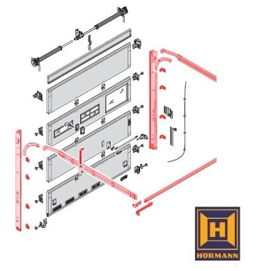 baureihe ltf lpu h rmann ersatzteile g nstig f r tore und mehr. Black Bedroom Furniture Sets. Home Design Ideas