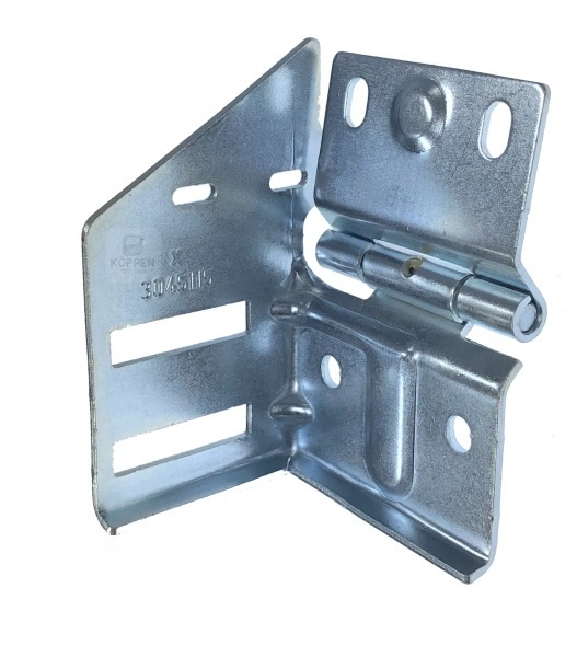 Rollenbock Typ 4 links Hörmann Garagensektionaltor