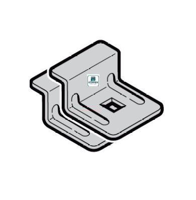 Laufschienenklammer verzinkt passend zu Hörmann Industrietor
