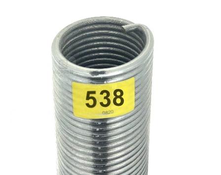 Novoferm Torsionsfeder 538 rechte Wicklung R 50-75-1550