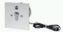 Schlüsseltaster ESU30 / ESU40, Unterputz Impuls